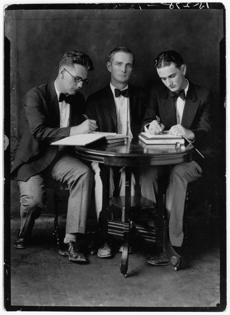 1928 Southwest Texas State Teachers College Debate Team