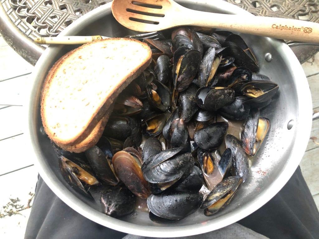 Wegman's Mussels