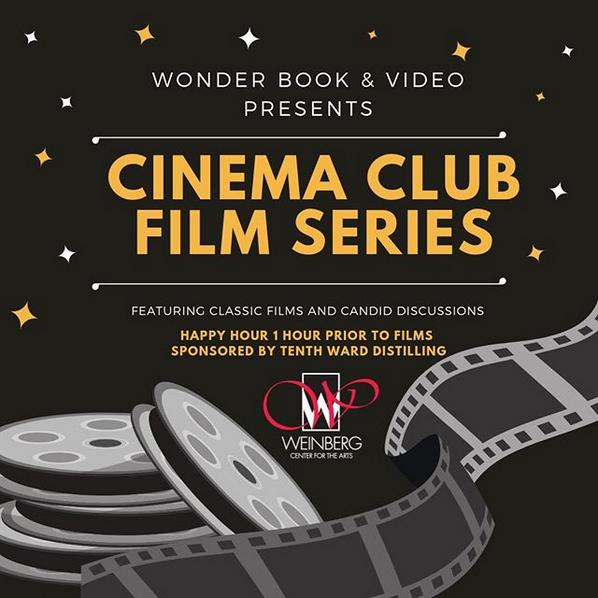 Wonder Book's Cinema Club Film Series