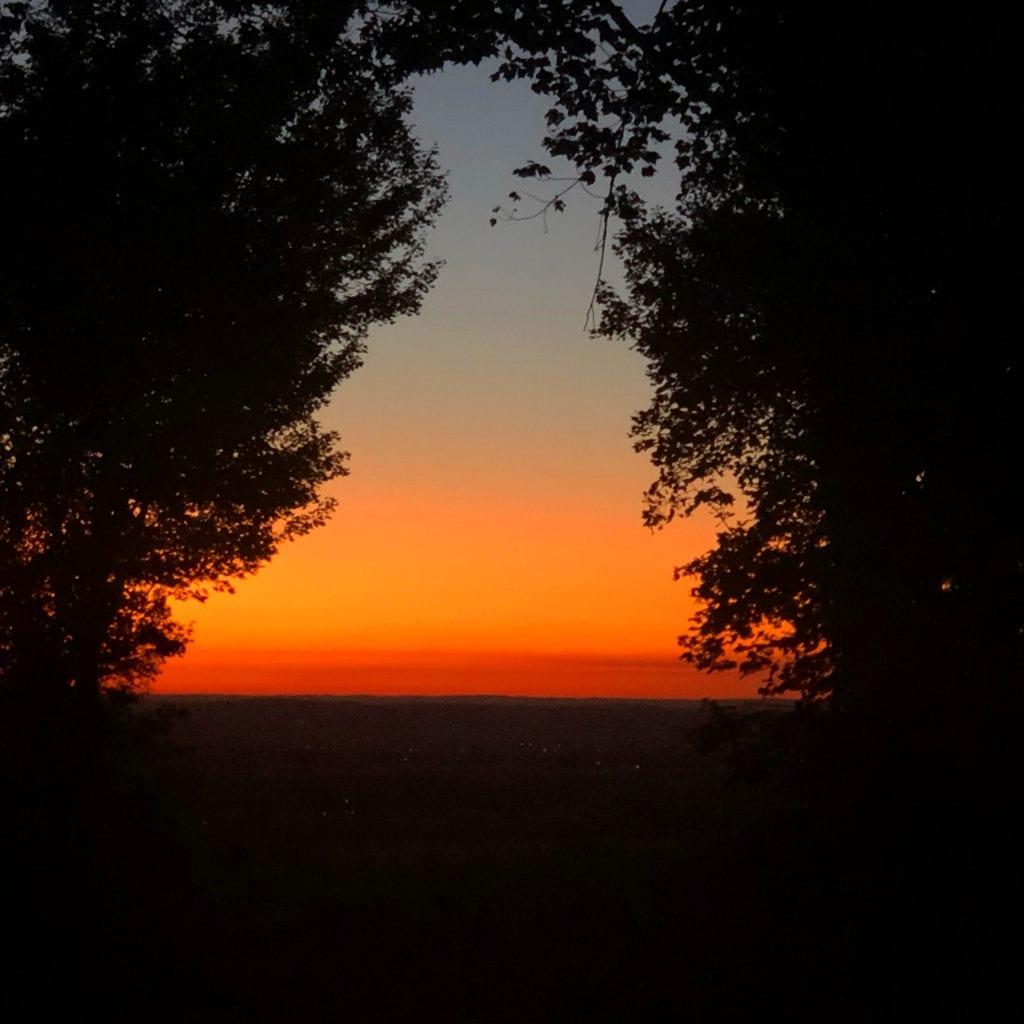 Burnt-Orange Dawn