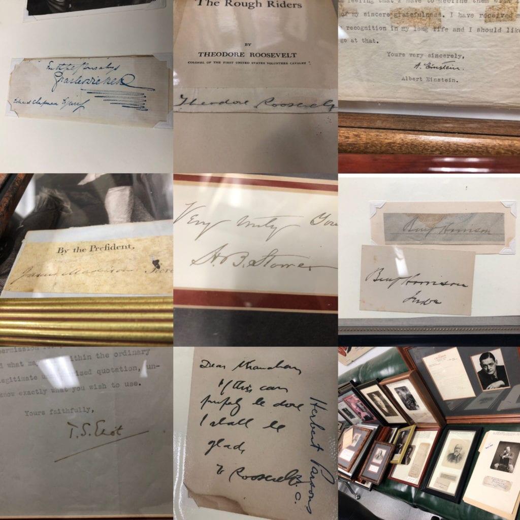 9 Autographs