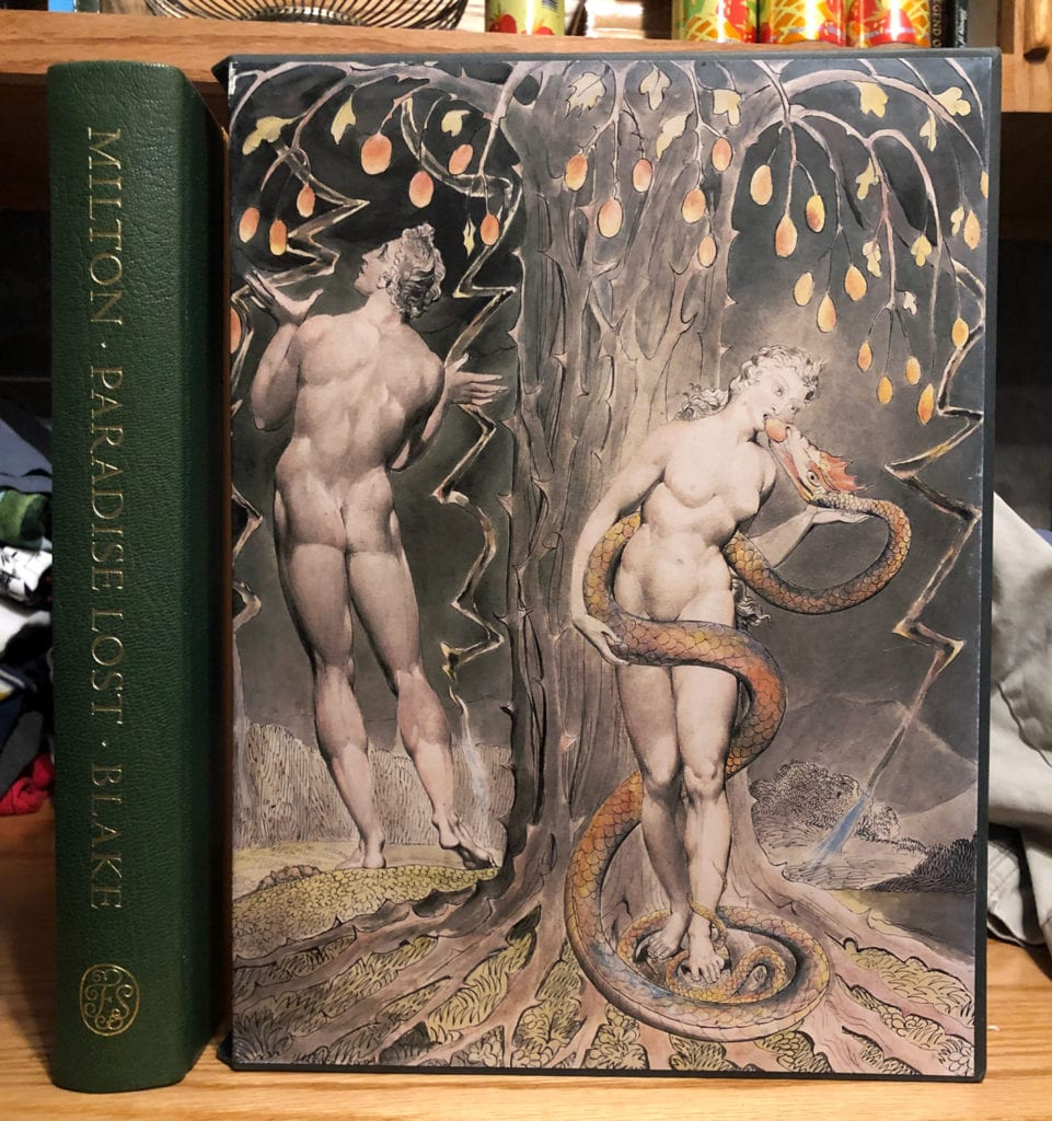 Milton's Paradise Lost illustrated by Blake