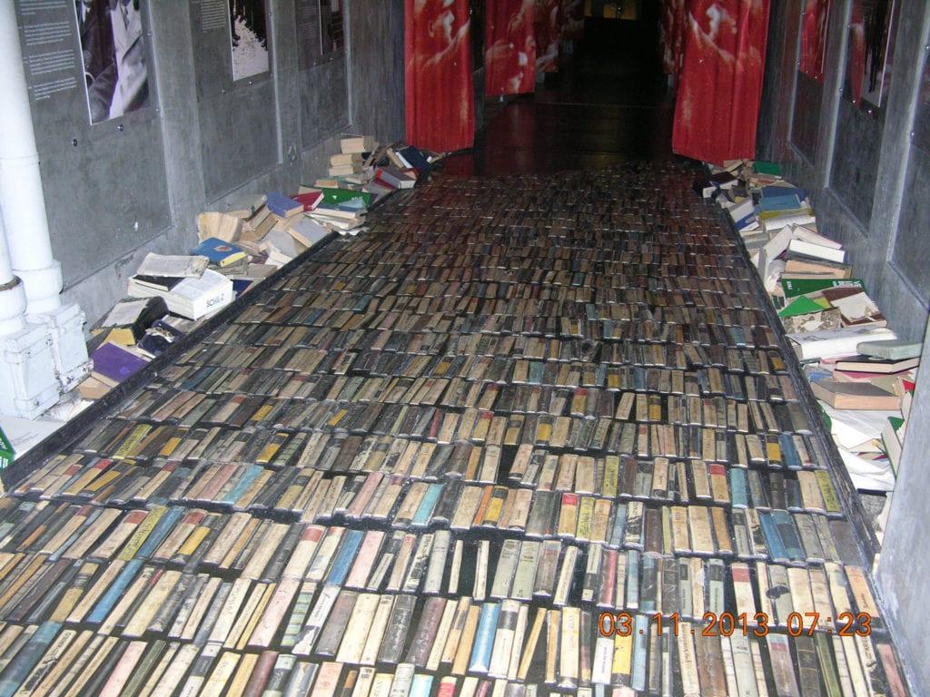 Berlin Book Museum Floor