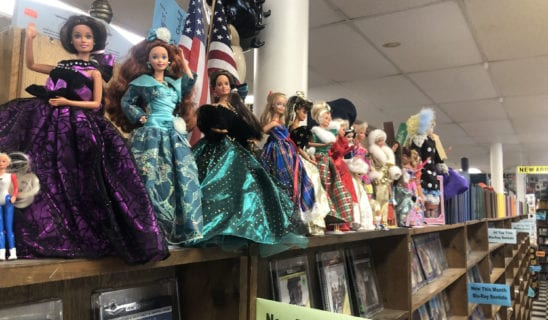 Dolls in Store