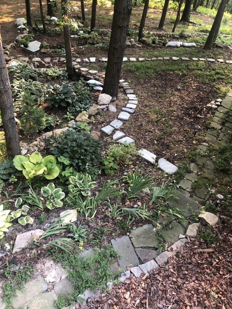 New Garden Path