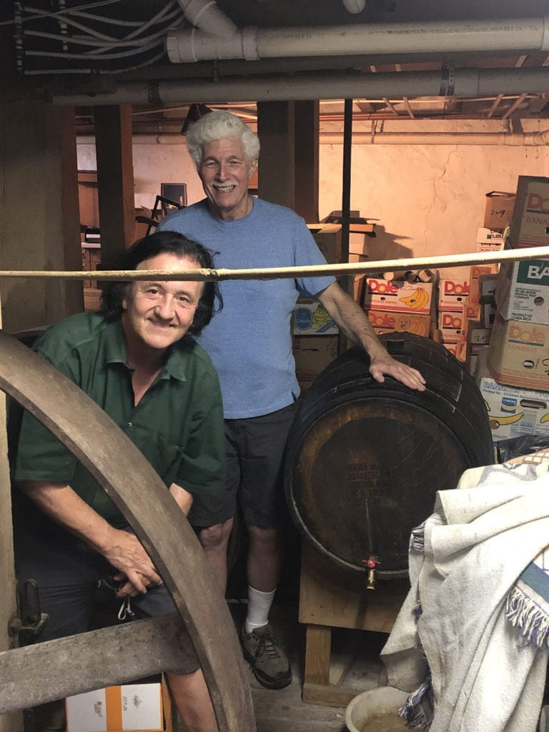 Chuck & Ron with Living Cask