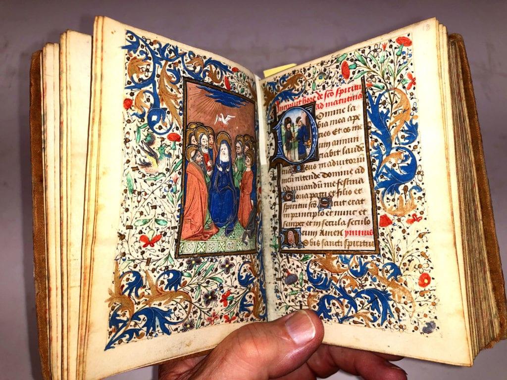 Book of Hours Illumination