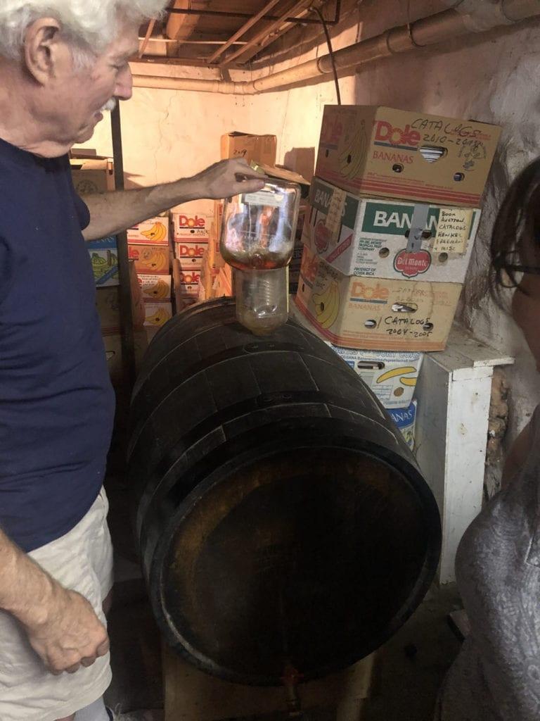 Adding Bourbon