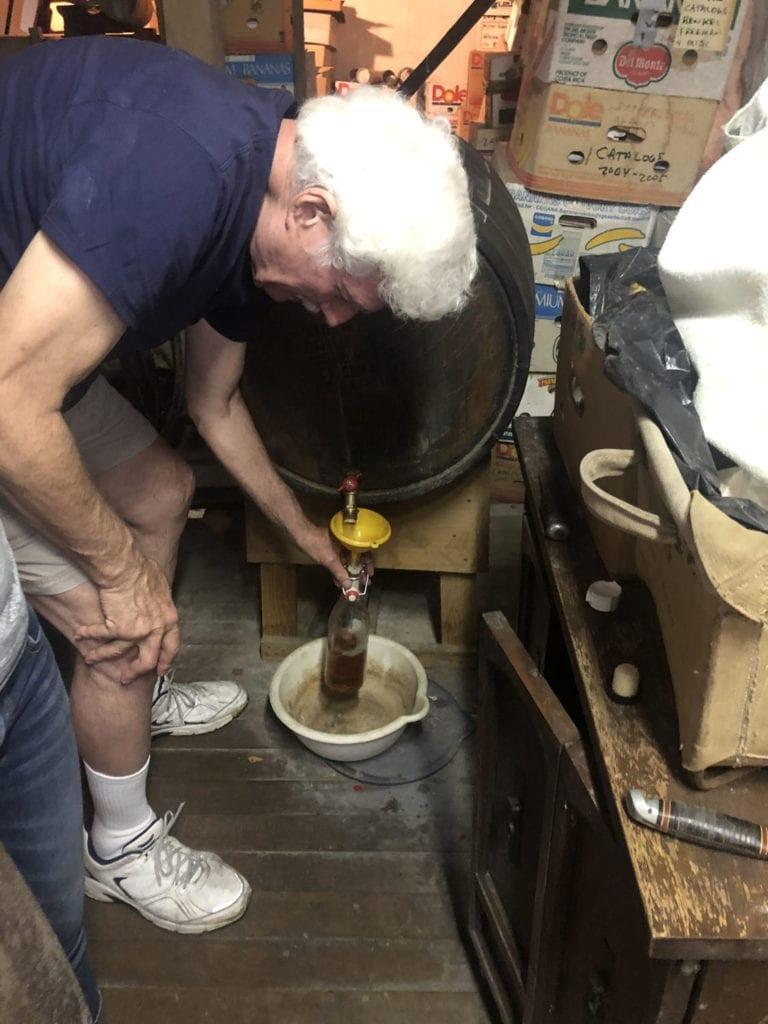 Decanting Bourbon