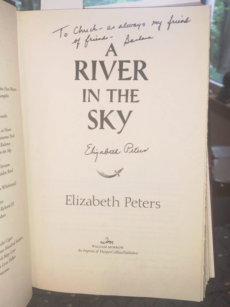 A River in the Sky Signed