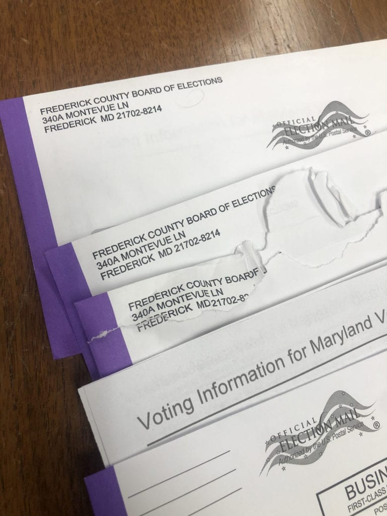 Mail-In Ballot Letters