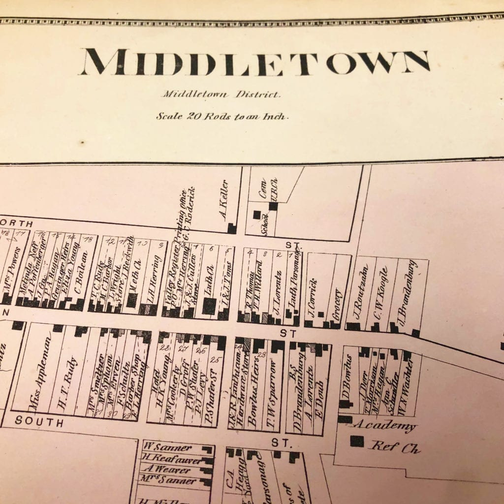 Middletown Map