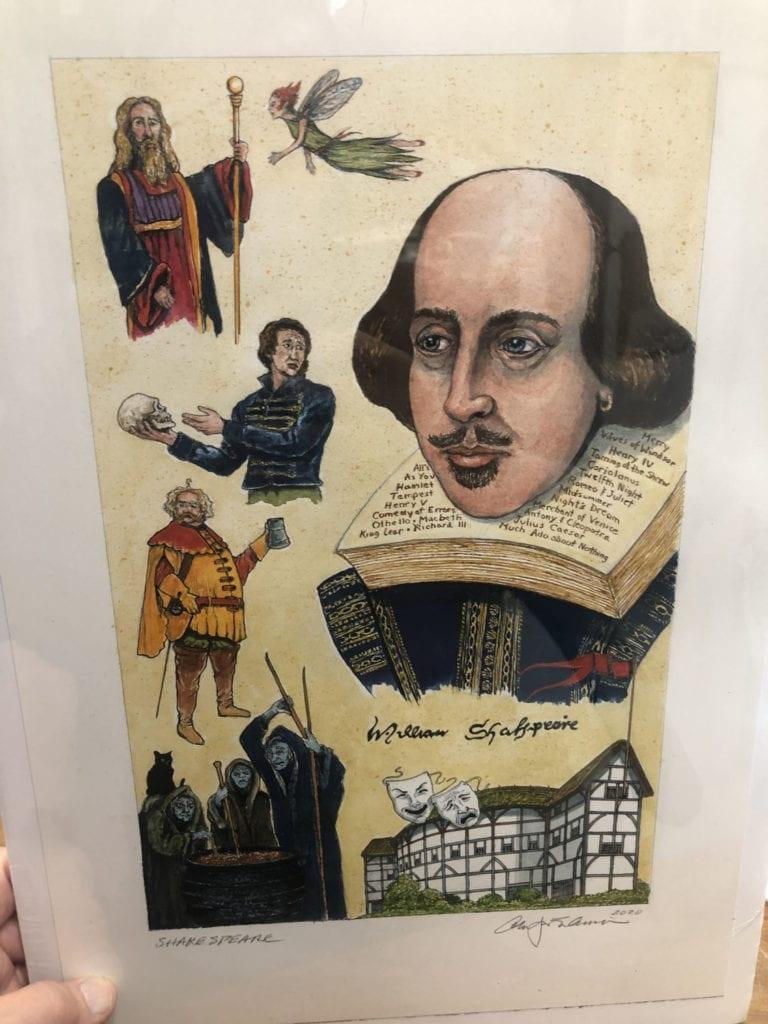 Shakespeare Portrait