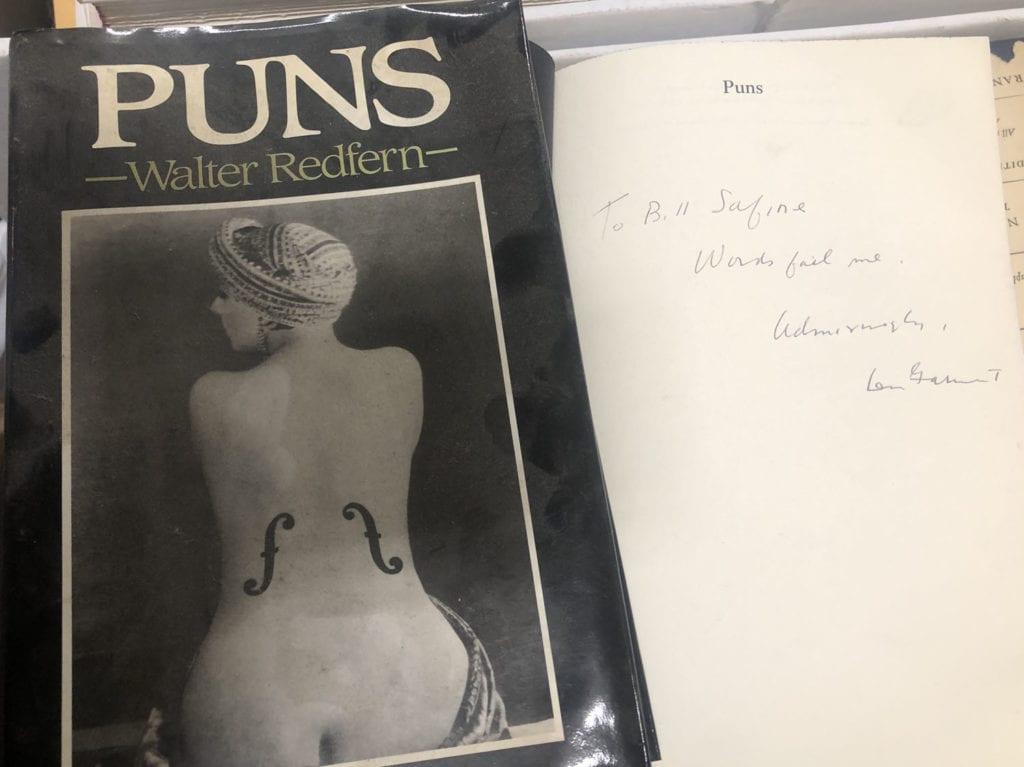 Puns by Walter Redfern