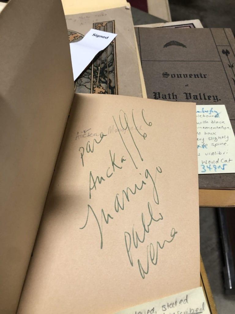 Pablo Neruda Book