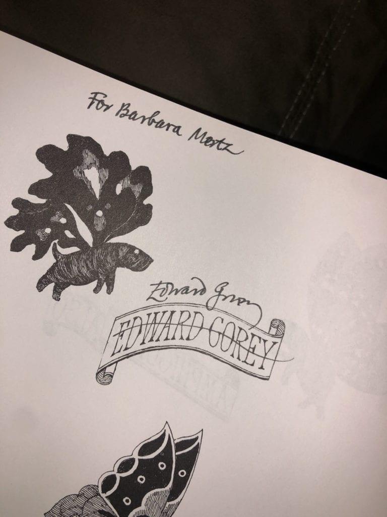 Barbara Mertz's Gorey Book