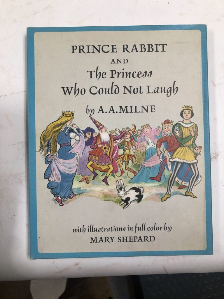 Prince Rabbit and the Prices Who Could Not Laugh