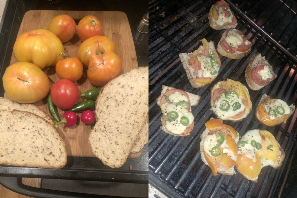 COVID Sandwiches Before & After