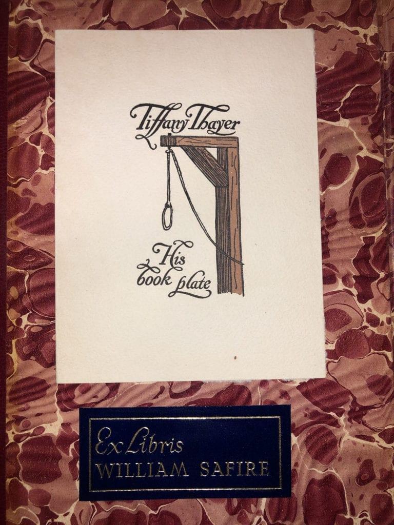 Thayer Bookplate