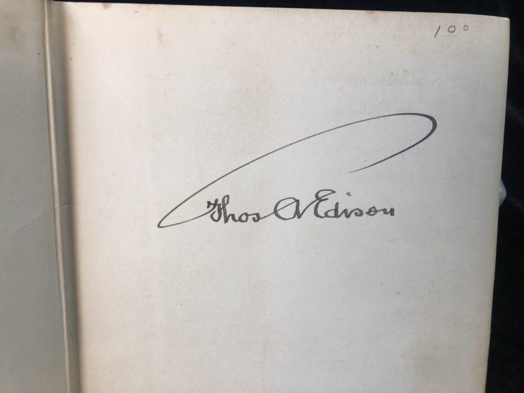 Edison Signature