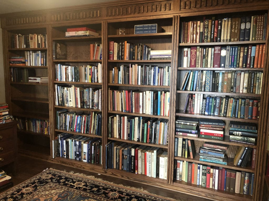 Downstairs Library