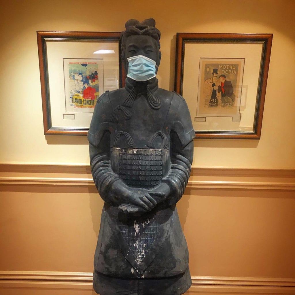 Masked Chinese Warrior