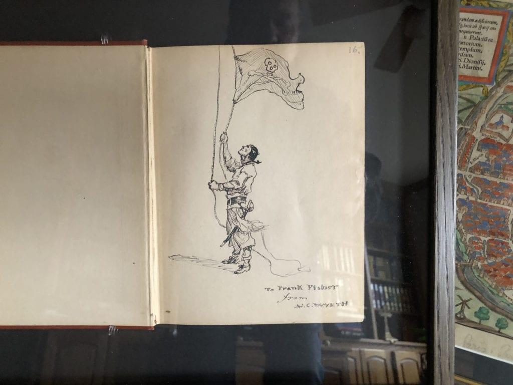 Framed Book