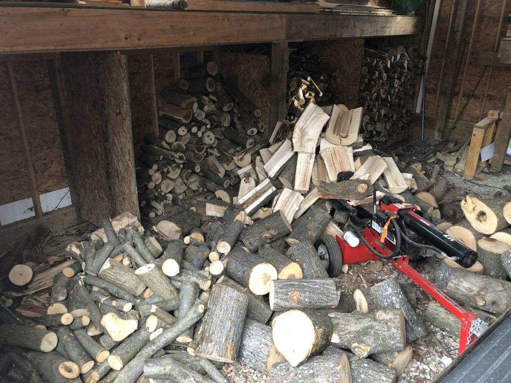 Unsplit Wood