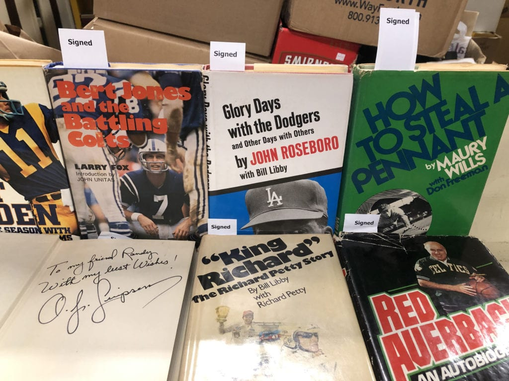 Autographed Sports Books
