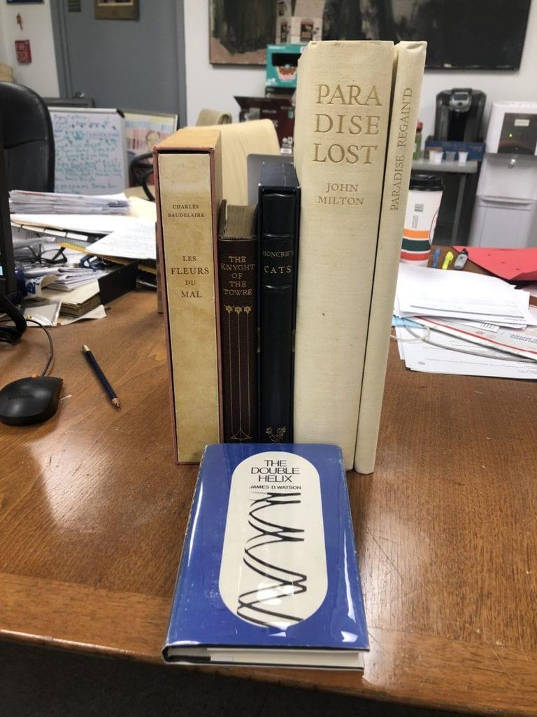 Shipment from Swan's Fine Books