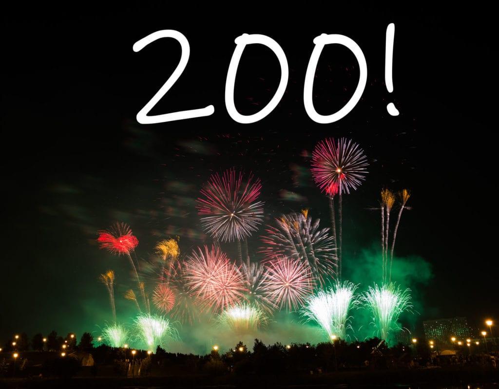 200 Weeks