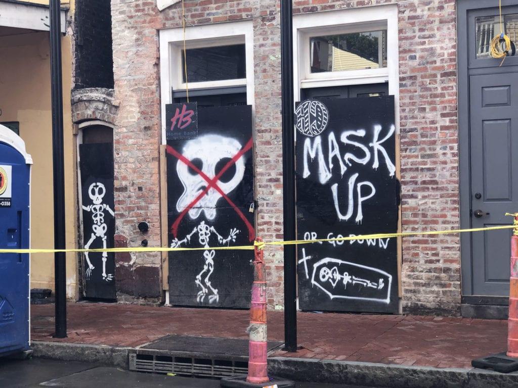 Mask Up Sign