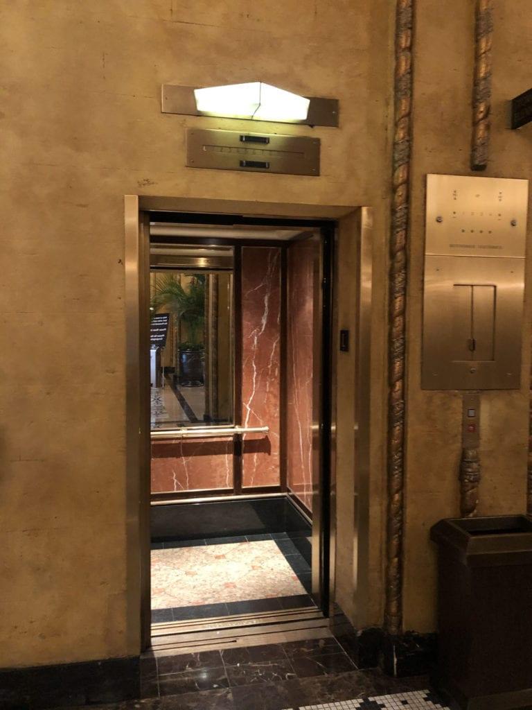The Roosevelt Elevator
