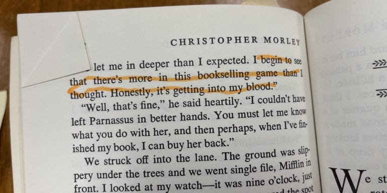 Christopher Morley Quote
