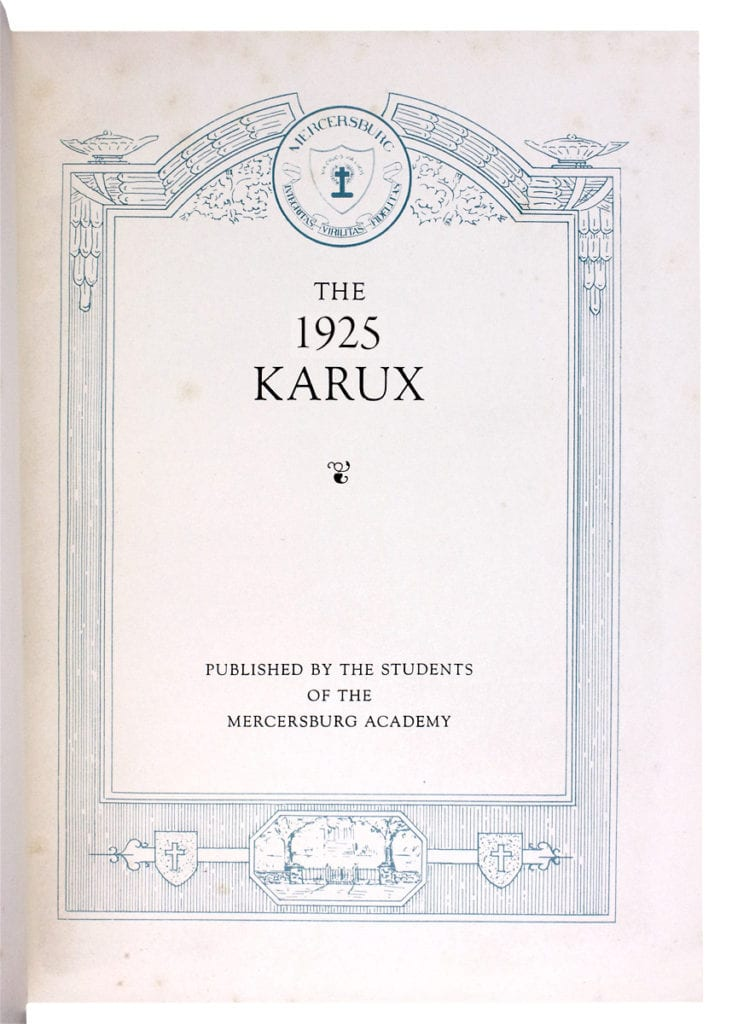 The Karux 1925