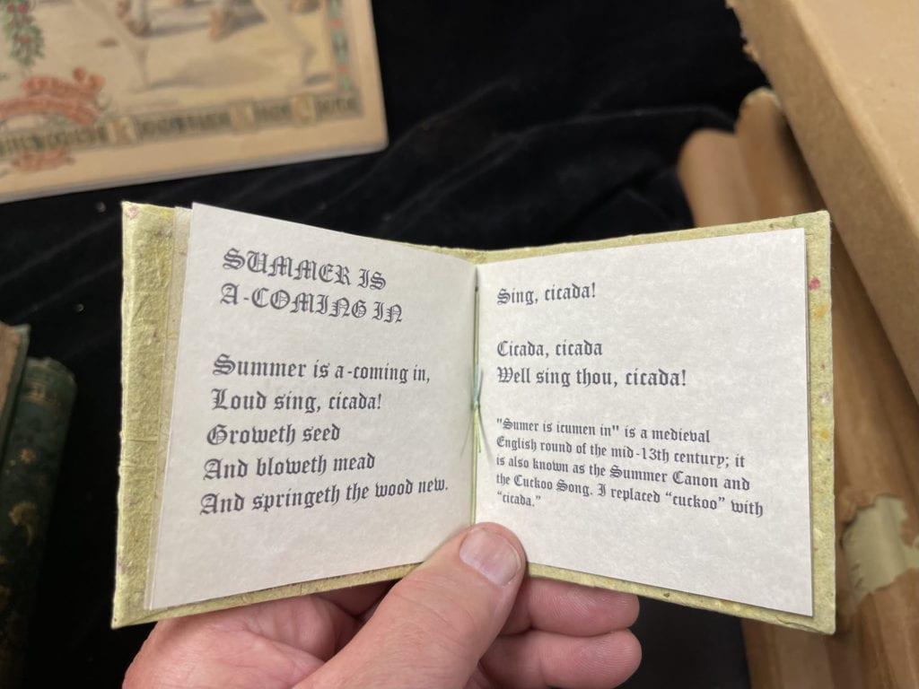 Tawn's Cicada Book