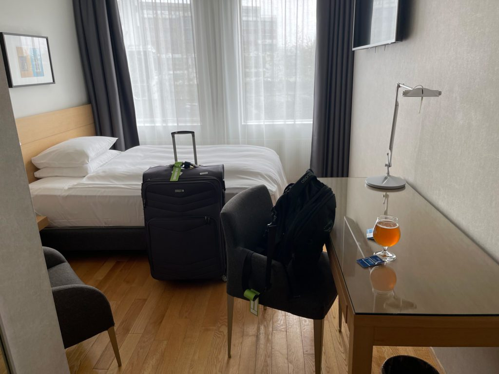 First Hotel Room