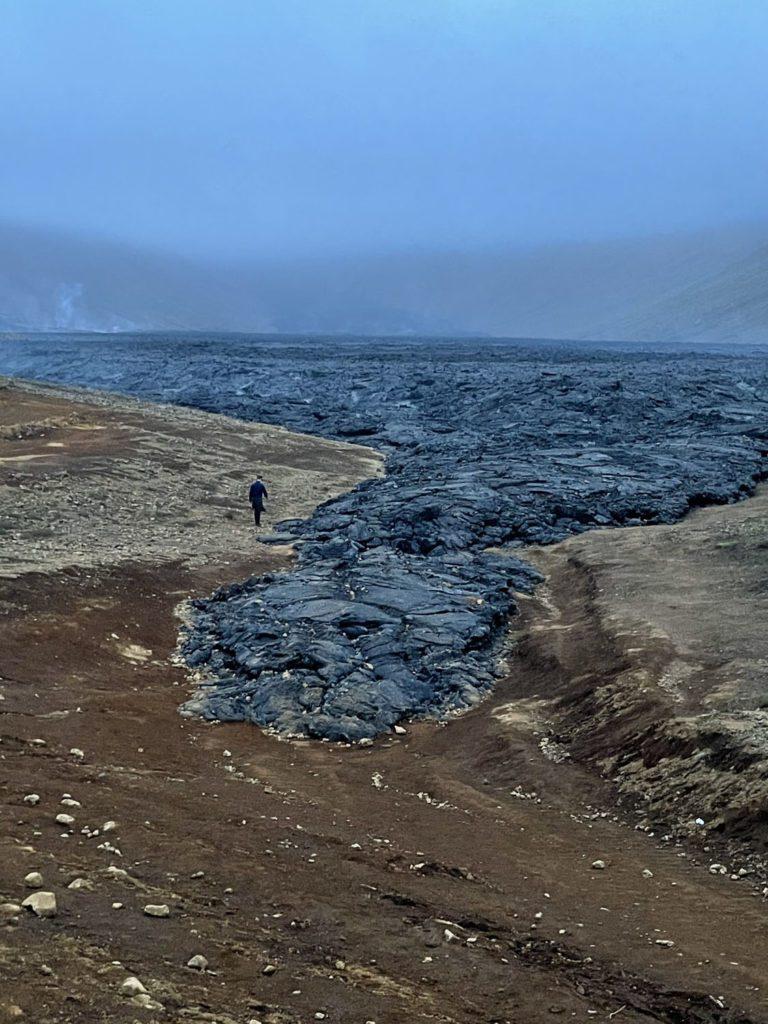 Chuck Geldingadalagos Volcano