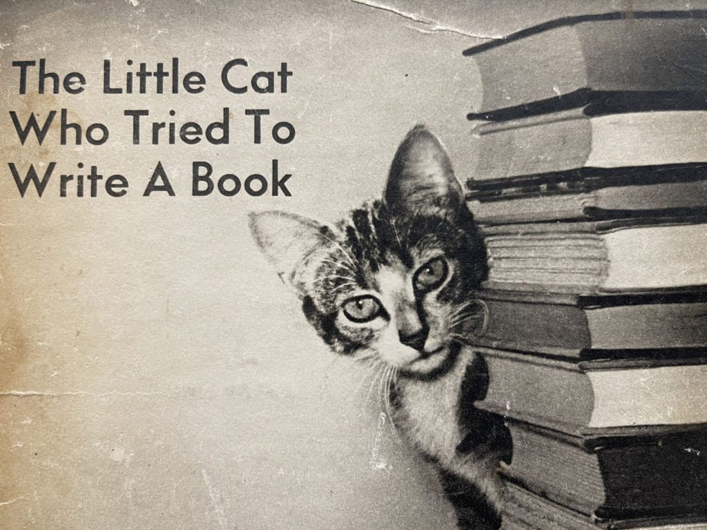 The Little Cat Who Tried to Write a Book