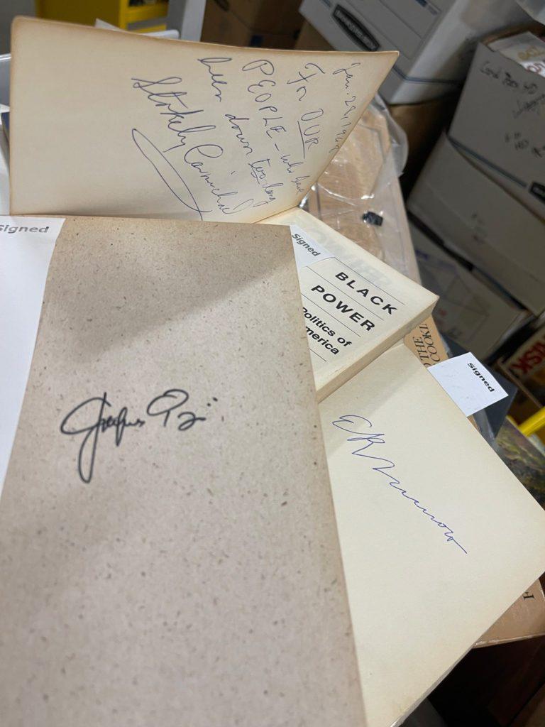 Autographed Books