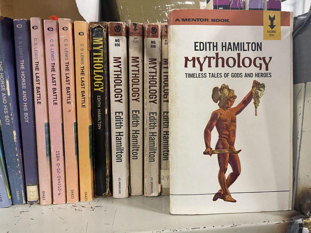 Mythology Paperback