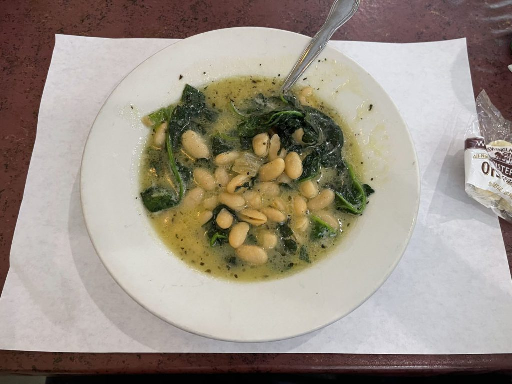 Beans and Spinach