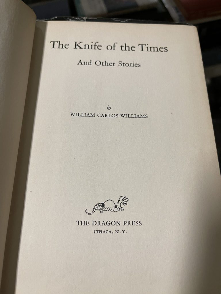 The Knife of the Times