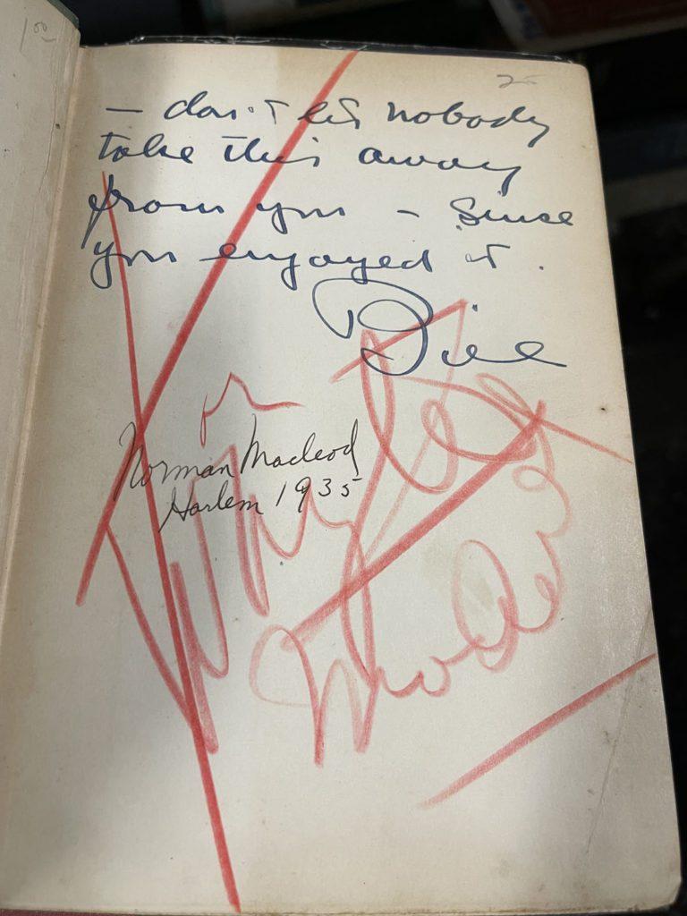 Norman Macleod Signature